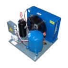 Revize tlakových nádob u chladicích zařízení 02