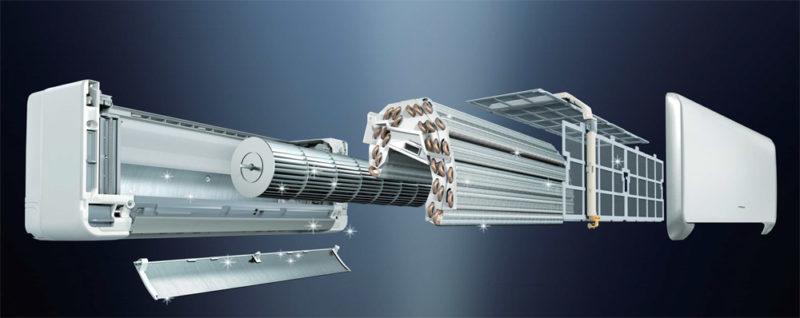Konstrukční provedení klimatizace