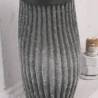 Opotřebený sací filtr