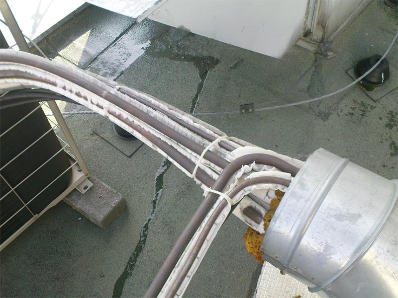 Izolace chladivového potrubí